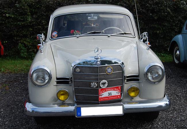 Ohne Stickoxid- und ohne Feinstaub-Ausstoß: Dieser alte Wagen kann mit Bioöl, Salatöl, Pommesfett vollkommen schwefelfrei fahren. Die Autoindustrie ist so verwirrt, dass sie es noch nicht einmal mehr weiß. / Foto: HB