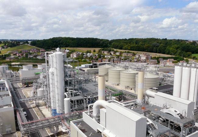 Die Bioethanolanlage der nächsten Generation in Wanze, Belgien, ist die modernste in Europa.