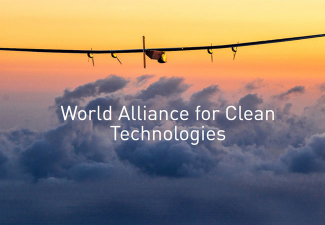The World Alliance for Clean Technologies was launched by the Solar Impulse Foundation at COP22.