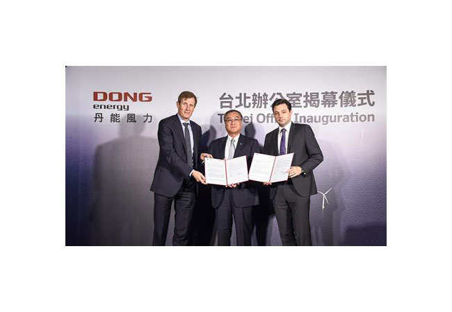 DONG Energy inaugurates Taiwan