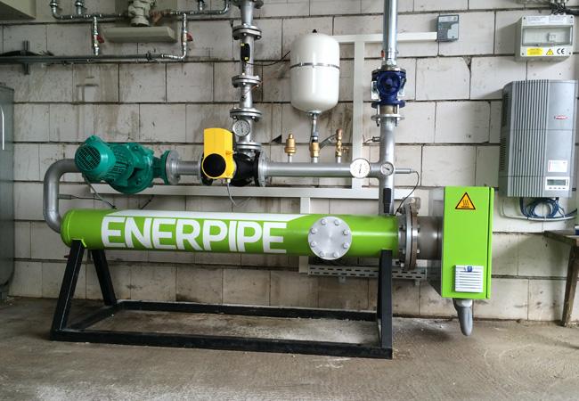 Bild 1: Die Produktreihe »Enerheat R-EH« war die erste Power-to-Heat- Lösung von Enerpipe für die Bereitstellung von Regelenergie / © 2016 ENERPIPE GmbH