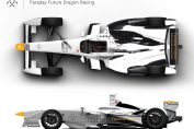 Announced this morning at the Formula E London ePrix, Faraday Future has entered into a long-term partnership with Dragon Racing. Pressebild: FF PR Team