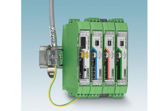 Pressebild: Funksystem unterstützt Kabelnetzwerk