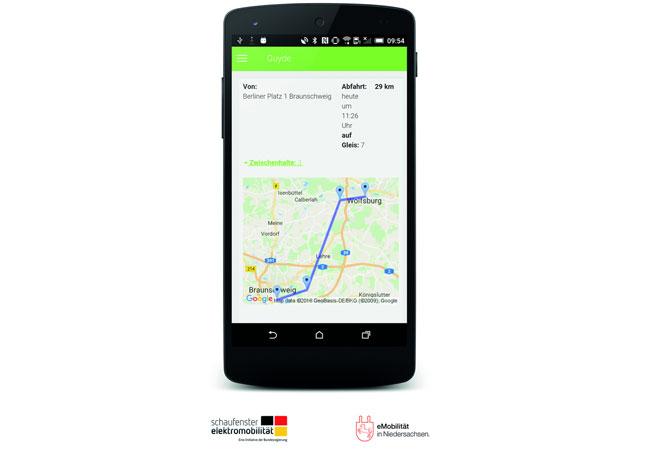 Pressebild: GUYDE-App-Route