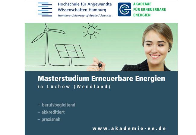 Masterstudium erneuerbare energien