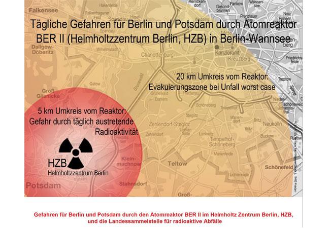 Flyer des Anti-Atom-Bündnis Berlin und Potsdam