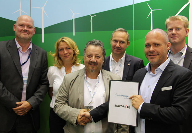 Gebündelte Kompetenzen - wpd windmanager und BELFOR entwickeln ganzheitliches Lösungskonzept für Havarie-Management / Pressebild