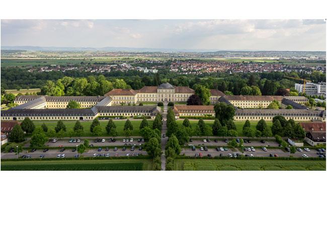 Der Campus der Universität Hohenheim / Pressebild