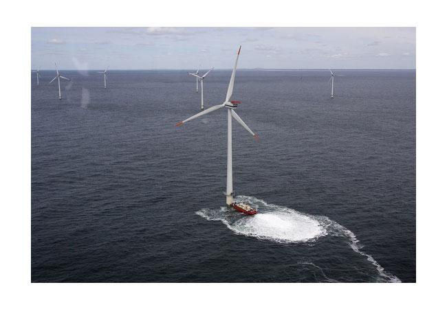 Horns rev wind farm 03 / Photographer/Creator Heidi Lundsgaard