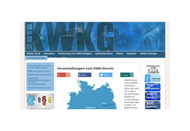 Internetseite: KWKG