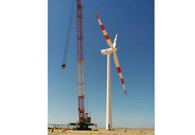 Windenergieprojekt Gulf of El Zayt / Pressebild: Lahmeyer