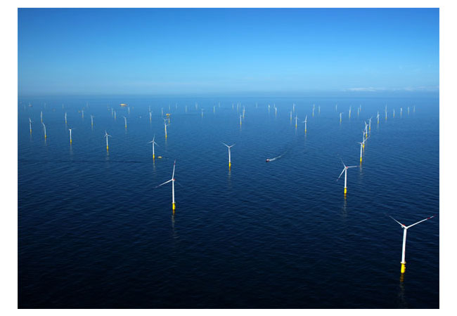 Image: Offshore Wind Farm Meerwind; Source: Slavko Vranjes - 8.2 Consulting AG