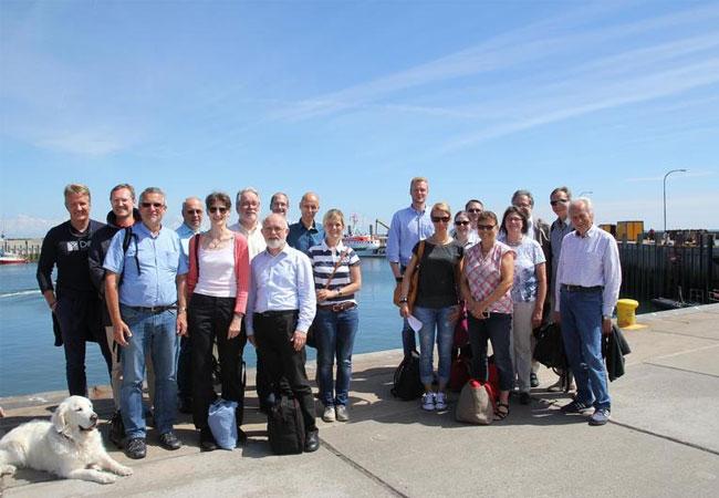 OWiSS Meilensteintreffen auf Helgoland / Pressebild: Hochschule Bremerhaven