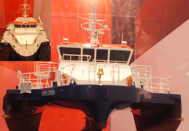 Offshore-Schiff / Fotos: HB