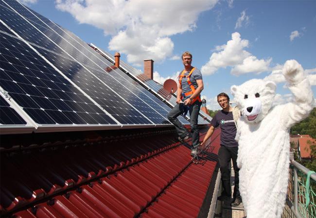 Photovoltaikanlagen für landeseigene Immobilien / Pressebild