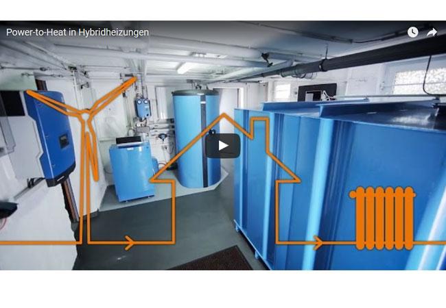 Ein Projekt des Instituts für Wärme und Oeltechnik zeigt, wie Verbraucher von der Energiewende profitieren können: mit Power-to-Heat. Dabei wird überschüssiger Strom aus Windkraft- und Photovoltaikanlagen zum Heizen in privaten Haushalten genutzt.