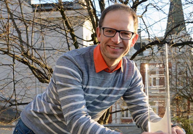 Clemens Jauch ist Professor für Windenergietechnik am Institut für Windenergietechnik