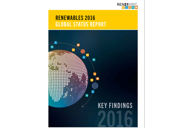2015 was an extraordinary year for renewable energy. Renewables are now cost competitive with fossil fuels in many markets and are established around the world as mainstream sources of energy. Read more at: http://www.ren21.net/status-of-renewables/global-status-report/