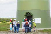 Windfest Sandbostel Führungen Führungen in eine Anlage / Pressebild: RWE
