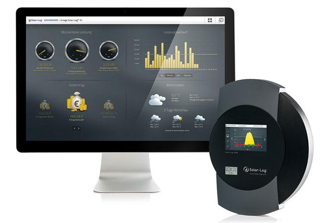 Dashboard_Logger_WEB.jpg / © 2016 Solare Datensysteme GmbH