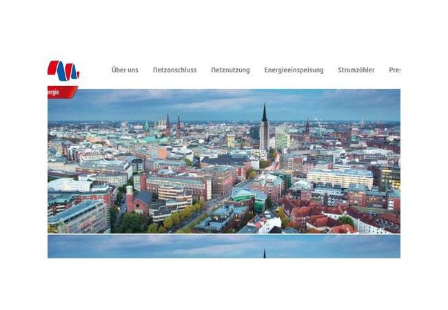 Stromnetz Hamburg GmbH / Internetauftritt