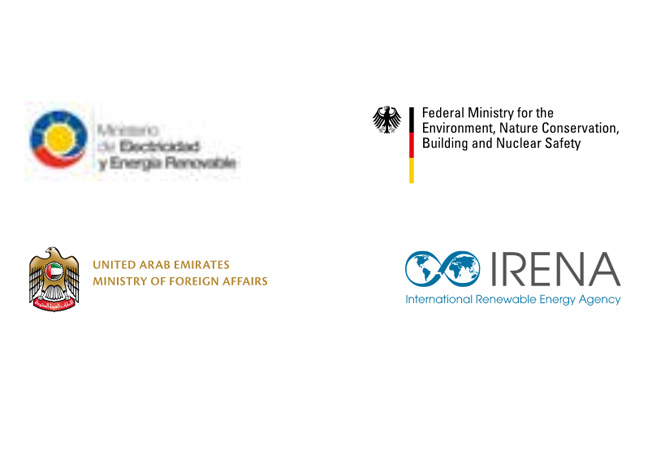 Die Regierungen von Ecuador, Deutschland und den Vereinigten Arabischen Emiraten und der Internationalen Agentur für Erneuerbare Energien