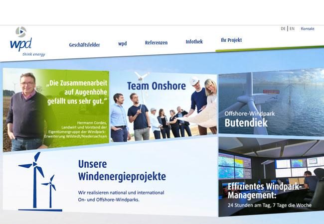 OWF Butendiek in der Installation-Phase / Pressebild: wpd AG