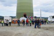Baustellentag Windpark Hof