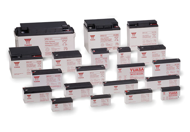 Bildunterschrift: Die vier Distributoren Beltrona, Jewo, Fey und Hückmann vertreiben in Deutschland alle Industriebatterie-Serien von YUASA.