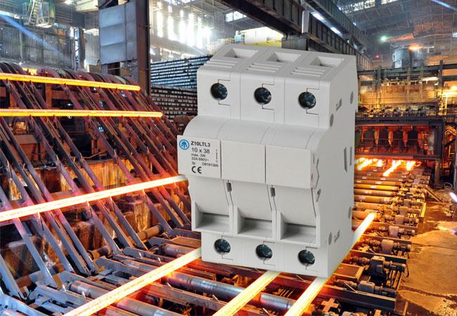 Neues Programm Zylindersicherungslasttrennschalter Serie Z-LTL von JEAN MÜLLER vorgestellt / Pressebild