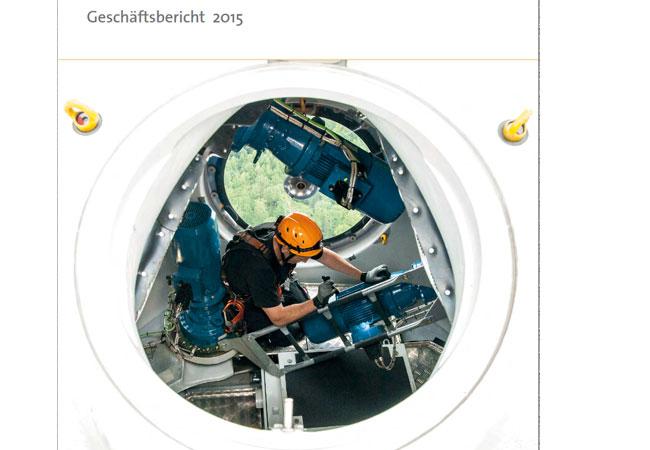 Geschäftsbericht 2015 Geschäftsbericht 2015 (PDF)