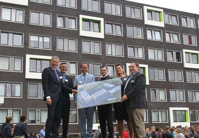 WIRSOL realisiert erste PV-Dachanlage in den Niederlanden / Pressebild