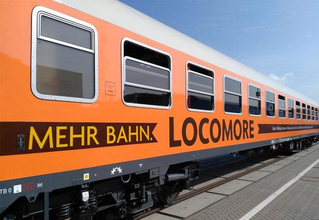 Zug des Start-Up Unternehmens Locomore (Foto: NATURSTROM AG)
