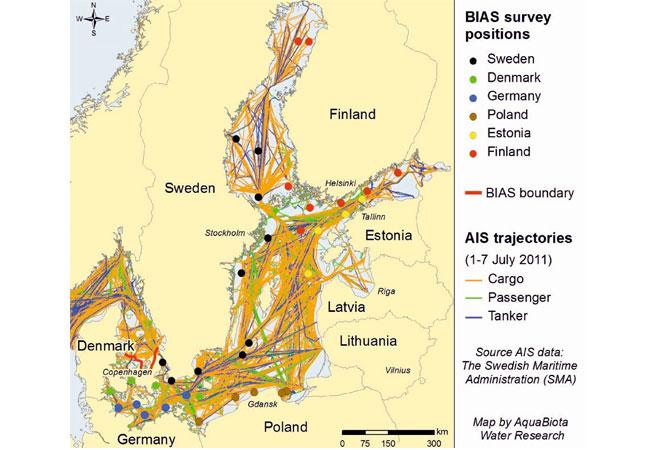 Pressegrafik: Bundesamt für Seeschifffahrt und Hydrographie (BSH)