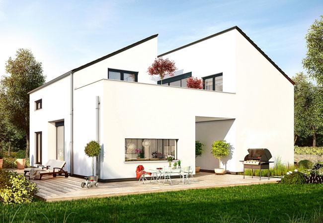 Nachhaltiges-Bauen / Presssebild: Deutsche Fertighaus Holding AG