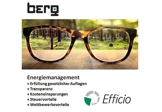 Energiemanagement mit EFFICIO von BERG / © 2016 IDS-Gruppe Holding GmbH
