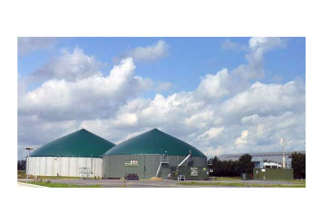 Biogasanlage / Foto: HB