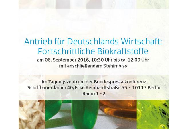 Logo Pressegespräch / © 2016 Industrielle Biotechnologie Bayern Netzwerk GmbH