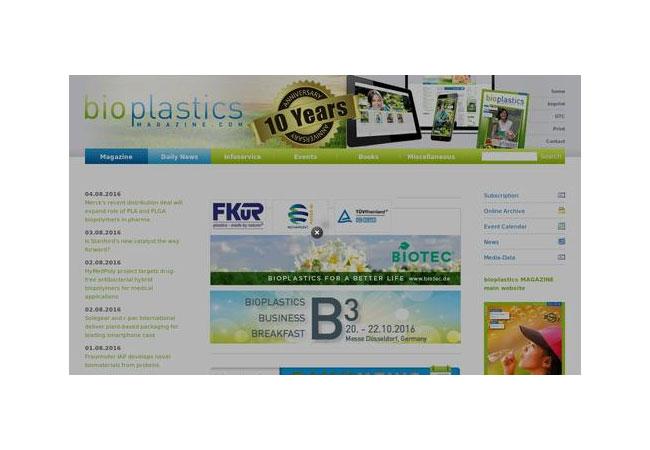Pressebild: bioplastics