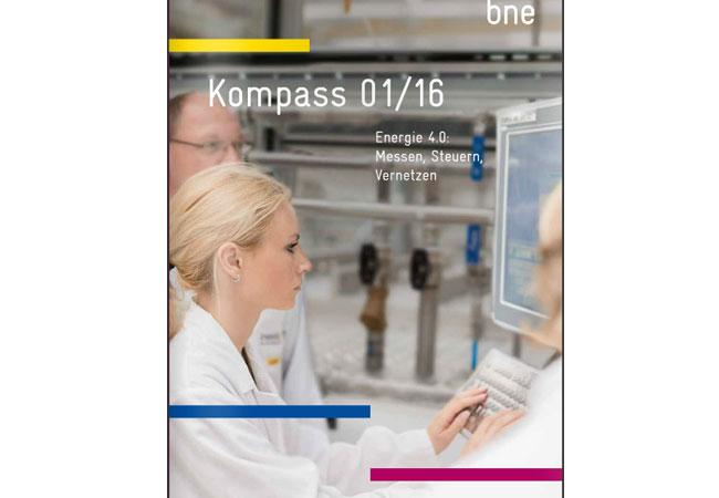 bne-Kompass 1/2016 - Energie 4.0 - Messen, Steuern, Vernetzen