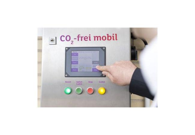Pressebild: Ladestation: CO2 frei