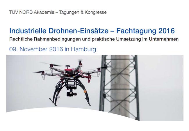 Industrielle Drohnen-Einsätze – Fachtagung 2016