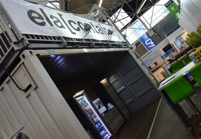 ELA Container Offshore wird auf der WindEnergy in Hamburg ausstellen. Besucher können verschiedene Typen von Offshore Wohncontainern besichtigen. / Pressebild