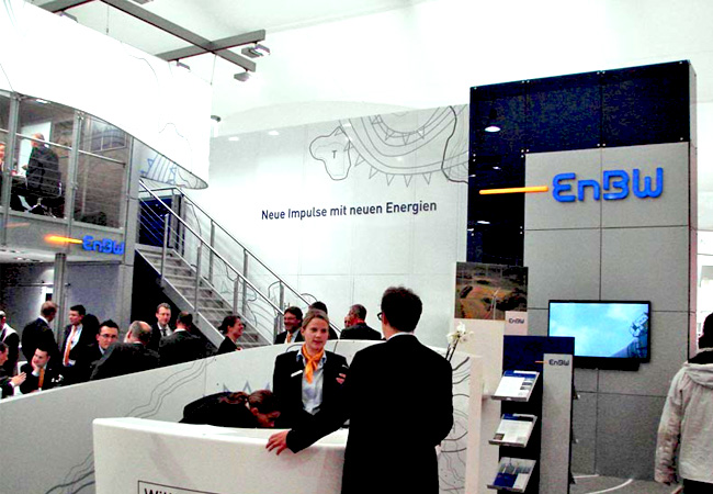 EnBW Messestand auf der Husum WindEnergy / Foto: HB