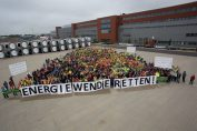 EC - Warnminute in Aurich / Pressebild: ENERCON