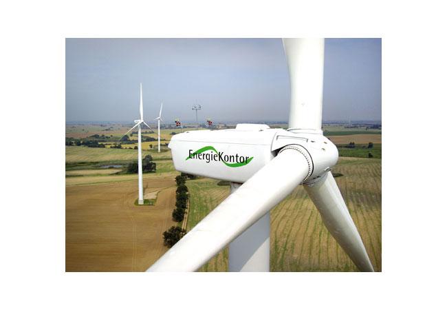 Pressebild: Anlagen von Energiekontor Foto Flying-Digicam