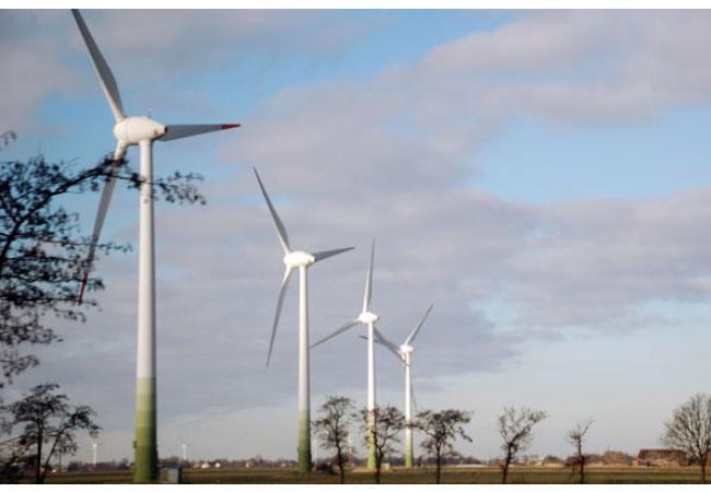 Windkraftanlagen / Foto: HB