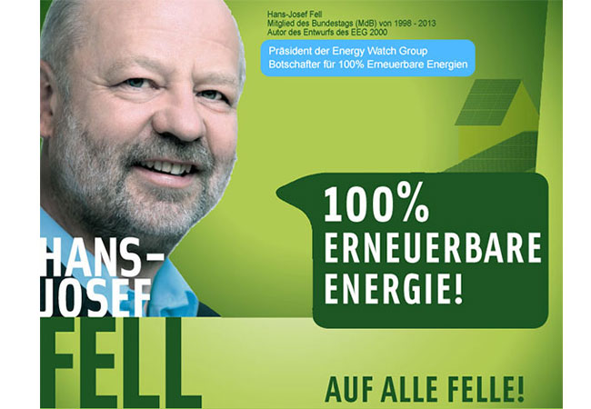 Internetseite: http://www.hans-josef-fell.de