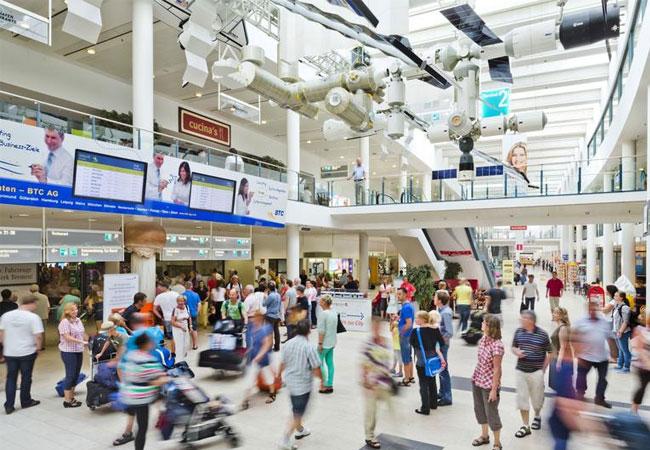Das Energiesteuerungssystem wird unter anderem auch das Fluggastaufkommen berücksichtigen. / Foto: Bremen Airport