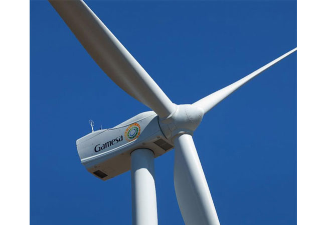 Gamesa Windrad / Pressebild